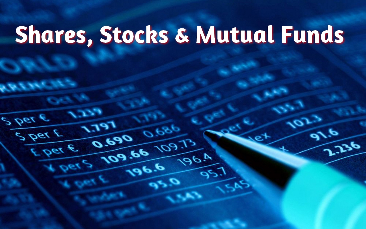 Difference between Shares, stocks and Mutual Funds